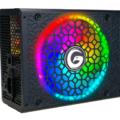 FUENTE GAMBYTE R650GB ( MG-R650GB ) 80 + BRONZE | LED- RGB NEGRO | 650W | SEMI- MODULAR|