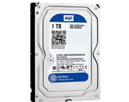 HDD WESTERN DIGITAL 1TB ( WD10EZEX ) AZUL | 64MB | 7200RPM