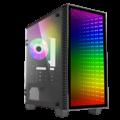 CASE MINI ABYSS HA-608 GAMEMAX RGB VIDRIO TEMP