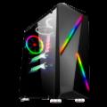 CASE SPARTA 845 RGB GAMER C/FUENTE 450W VIDRIO TEMP