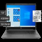 LAPTOP HP 15.6″ I3 -DW1085LA-10MA 4GB RAM SSD 256GB GRIS
